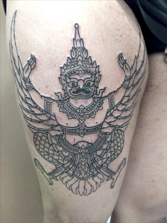 Yus Gurkha Tattoo Family Indra Bahadur1 (4)